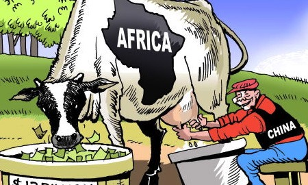 China-in-Africa illustration