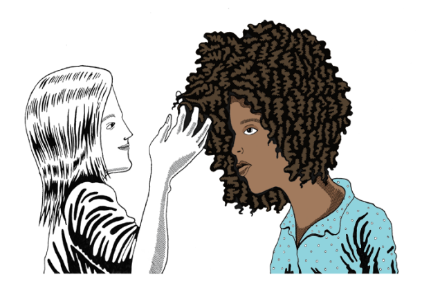 Illustration taken from The Bold Italic Retrieved January 3, 2016 from http://www.thebolditalic.com/articles/2784-im-not-your-black-friend
