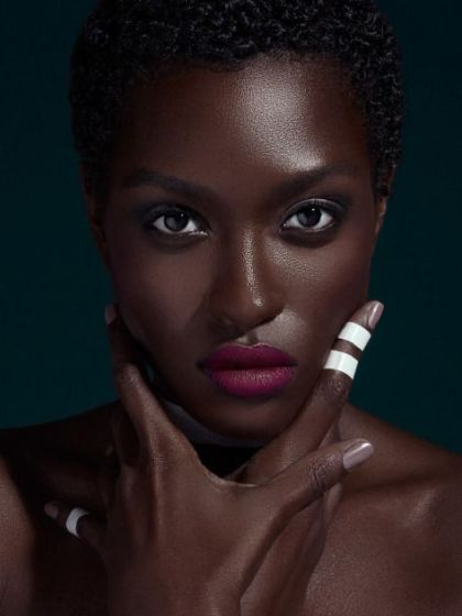 Photo credit: Untitled photo of dark skin burgundy lip makeup Retrieved January 30, 2016 from https://www.pinterest.com/pin/302022718741915433/