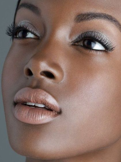 Pin by Lady Love on All makeup   Dark skin makeup, Black