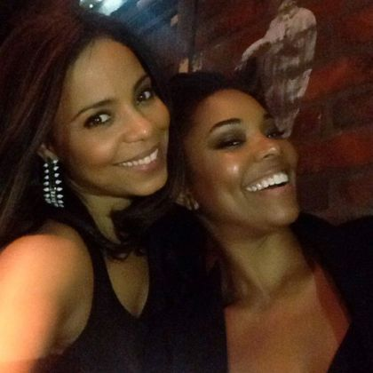 Gabrielle Union and Sanaa Lathan. Source Sanaa's Instagram