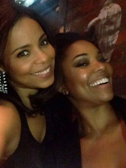 Gabrielle Union and Sanaa Lathan. Source Sanaa's Instagram