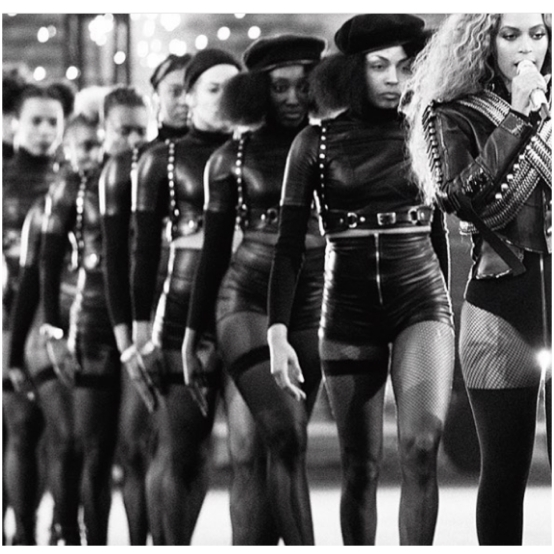 Formation Super Bowl 50 performance