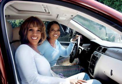 Oprah and Gayle. Source BET
