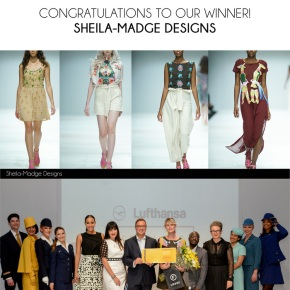 Sheila-Madge Announced As Winner of the Lufthansa 1st Class Collection at SAFW17#SAFW17