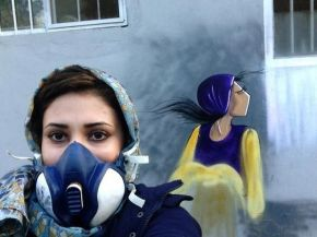 The First Afghani Female Graffiti Artist is out Here Slaying TheseStreets