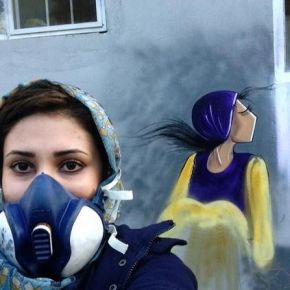 The First Afghani Female Graffiti Artist is out Here Slaying These Streets