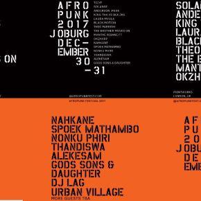 AFROPUNK festival :Joburg!