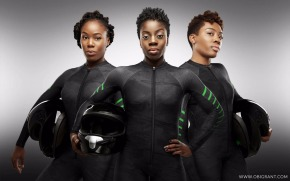 Nigerian women repping for the Olympics