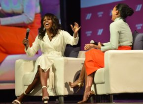 {VIDEO} Michelle Obama in conversation with Tracee Ellis Ross